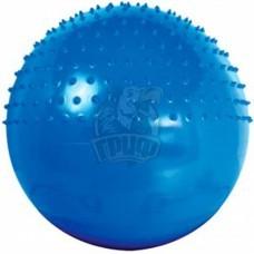 Мяч гимнастический полумассажный 65 см с системой антивзрыв