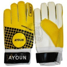 Перчатки вратарские Ayoun (желтый)