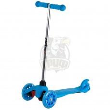 Самокат 3-х колесный Ridex 3D Kinder (синий)