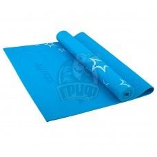 Коврик гимнастический для йоги Starfit (синий)