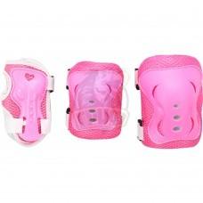 Набор защиты роллера Fora (розовый)