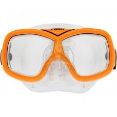 Маска для плавания подростковая Fora (оранжевый)