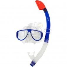 Набор для плавания подростковый Fora (синий)