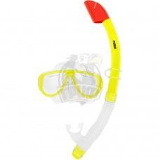 Набор для плавания подростковый Fora (желтый)
