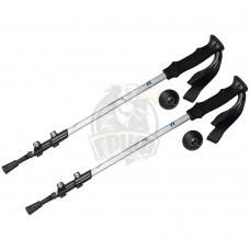 Палки для скандинавской ходьбы телескопические Fora 65-135 см