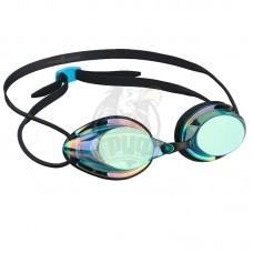 Очки для плавания стартовые Mad Wave Streamline Rainbow (синий)