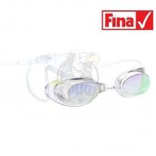 Очки для плавания стартовые Mad Wave Liquid Racing Mirror (прозрачный)