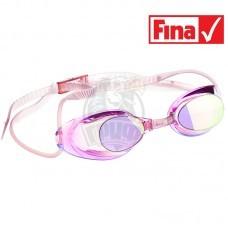 Очки для плавания стартовые Mad Wave Liquid Racing Mirror (фиолетовый)