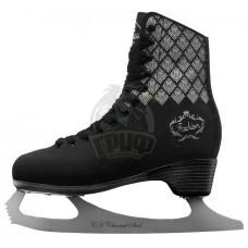 Коньки фигурные Спортивная Коллекция Fashion Lux Black