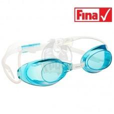Очки для плавания стартовые Mad Wave Liquid Racing (голубой)