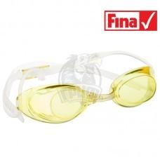 Очки для плавания стартовые Mad Wave Liquid Racing (желтый)