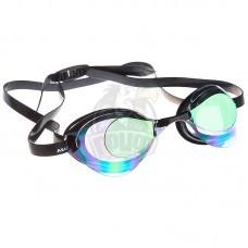 Очки для плавания стартовые Mad Wave Turbo Racer II Rainbow (фиолетовый)