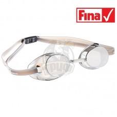 Очки для плавания стартовые Mad Wave Racer SW Mirror (серый)