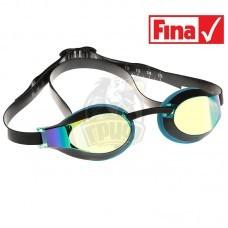 Очки для плавания стартовые Mad Wave X-Look Rainbow (голубой)