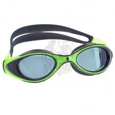 Очки для плавания юниорские Mad Wave Automatic Junior Flame (зеленый)