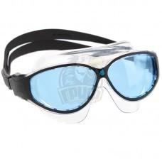 Очки-маска для плавания юниорские Mad Wave Flame Mask Junior (черный)