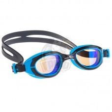 Очки для плавания юниорские Mad Wave Sun Bloker Junior (синий)