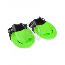 Ласты тренировочные для браса Mad Wave Positive Drive (зеленый)