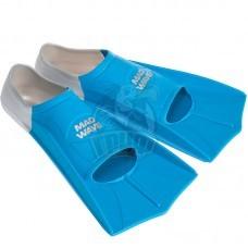 Ласты тренировочные укороченные Mad Wave Fins Training (синий)