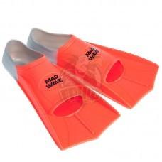 Ласты укороченные Mad Wave Fins Training (оранжевый)