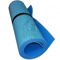 Коврик двухслойный Экофлекс 8 мм (голубой/синий)