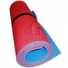 Коврик двухслойный Экофлекс 10 мм (красный/синий)