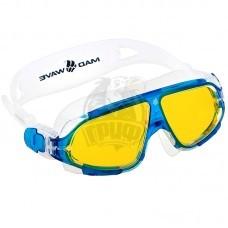 Очки-маска для плавания Mad Wave Sight II (голубой)