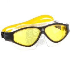 Очки-маска для плавания Mad Wave Flame Mask (желтый)