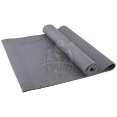 Коврик гимнастический для йоги Starfit (серый)