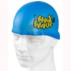 Шапочка для плавания детская Mad Wave Silicone Solid Junior (в ассортименте)