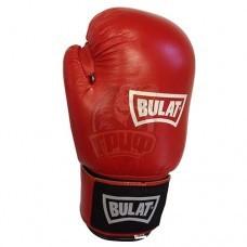 Перчатки боксерские Bulat Victory кожа (красные)