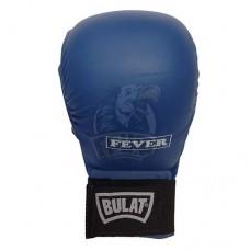 Перчатки (накладки) каратэ Bulat ПУ (синие)