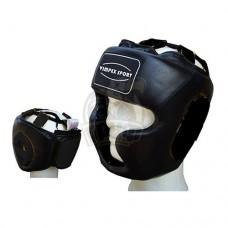 Шлем боксерский Vimpex Sport 1716 кожа