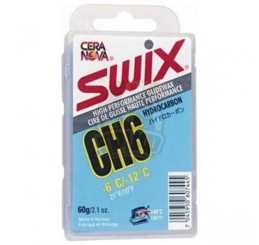 Парафин Swix CH 6 Blue -6/-12С, 60 гр
