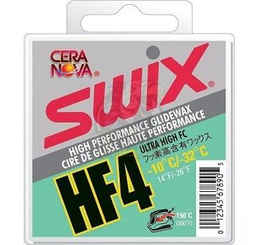 Парафин Swix HF4 Green -10C/-32C 40 гр