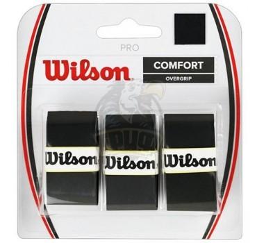 Обмотка для теннисной ракетки Wilson Pro Overgrip (черный)