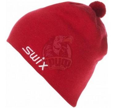 Шапочка лыжная Swix Tradition (красный)
