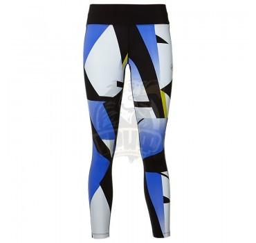 Тайтсы спортивные женские Asics Fuzex 7/8 Tight (пурпурный/черный)