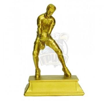 Кубок сувенирный Волейбол HX3135-B9 (бронза)