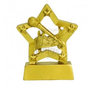 Кубок сувенирный Микрофон HX3238-C5 (золото)