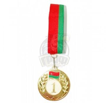 Медаль 6.5 см (золото)