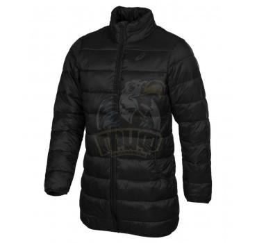Куртка спортивная мужская утепленная Asics Winter Long Padded Jkt (черный)