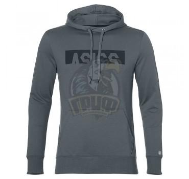Толстовка спортивная мужская Asics Esnt Dbl Gpx Oth Hdy (серый)