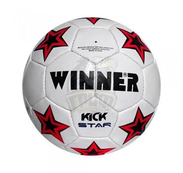 Мяч футбольный любительский Winner Kick Star №5 (красный)