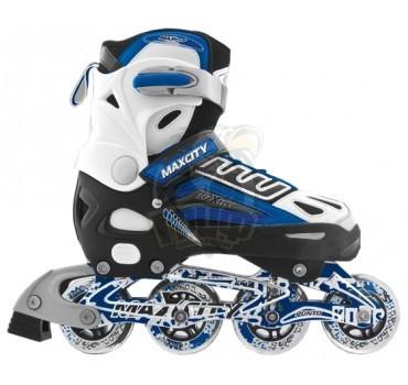 Роликовые коньки раздвижные Maxcity Punto Blue