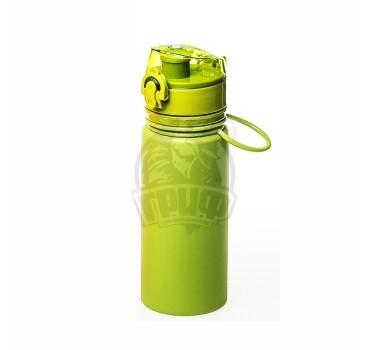 Бутылка (сититерм) силиконовая Tramp 500 мл (зеленый)