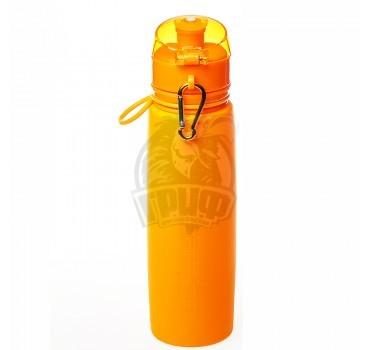 Бутылка (сититерм) силиконовая Tramp 700 мл (оранжевый)