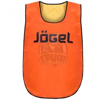 Манишка двухсторонняя детская Jogel (оранжевый/желтый)