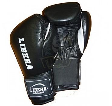 Перчатки боксерские Libera American model ПУ (черный)