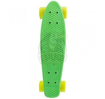 Пениборд Maxcity Penny X1 Big (зеленый/желтый)